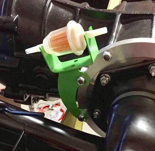 Custom VW Fuel Filter Bracket