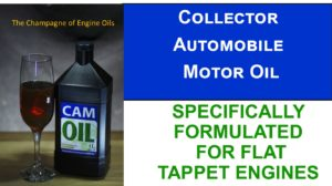 Collector Automobile Motor Oil
